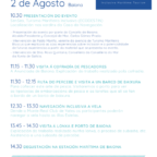Evento Baiona - Bluscus Turismo Mariñeiro, dentro del proyecto europeo Ecodestin_3IN