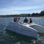 A través del proyecto europeo Capiten apoyamos el barco gallego eléctrico para el nuevo turismo náutico